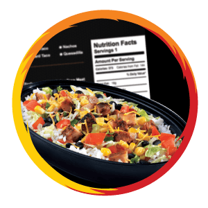 Hot Head Burritos Nutrition Calculator